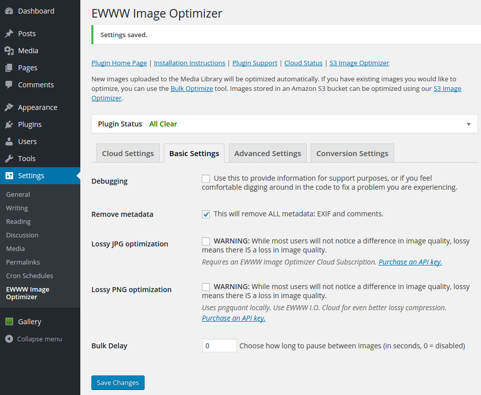 EWWW Image Optimizer - image optimization plugin